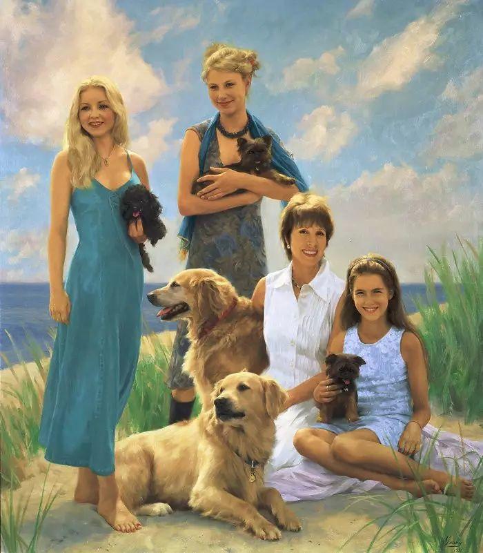 美国杰弗里·基尔Geoffrey Geary肖像油画插图43
