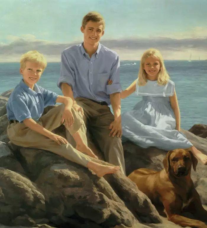 美国杰弗里·基尔Geoffrey Geary肖像油画插图45