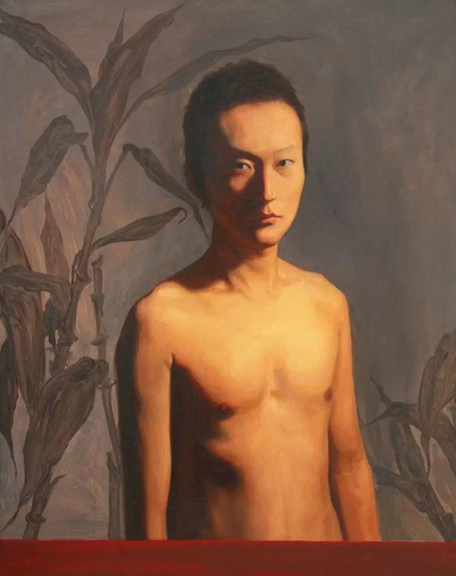 仲清华人物油画插图19