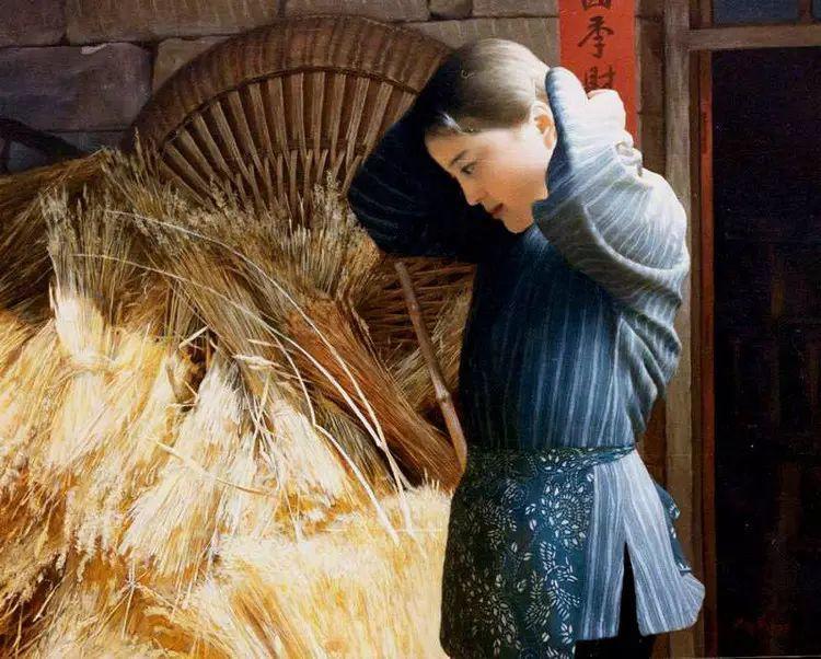 描绘早期中国的油画作品插图13