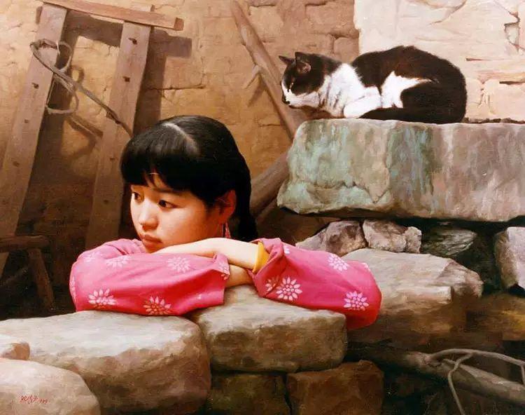 描绘早期中国的油画作品插图15
