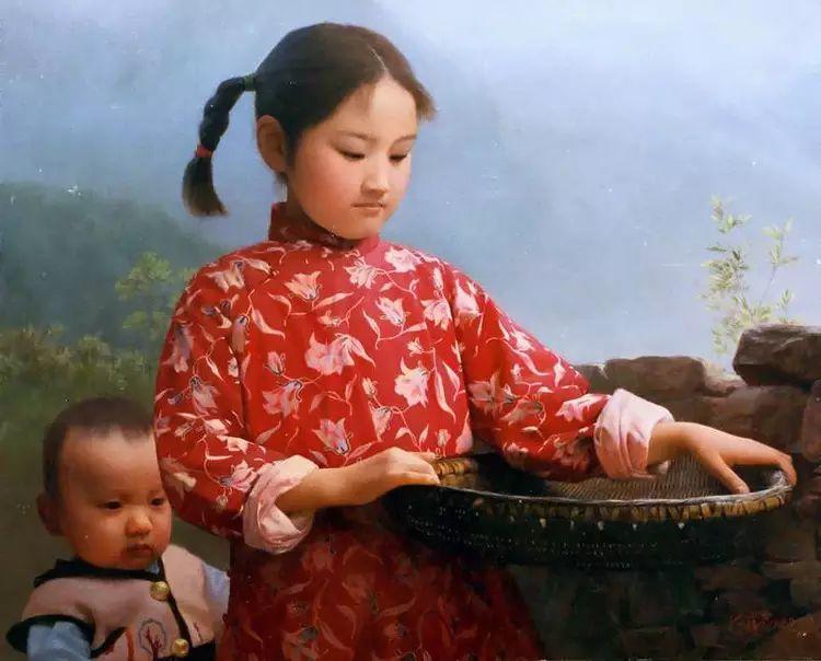 描绘早期中国的油画作品插图19