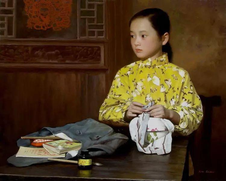 描绘早期中国的油画作品插图21