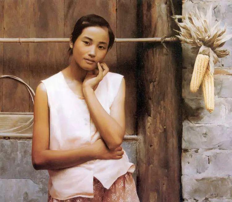 描绘早期中国的油画作品插图25