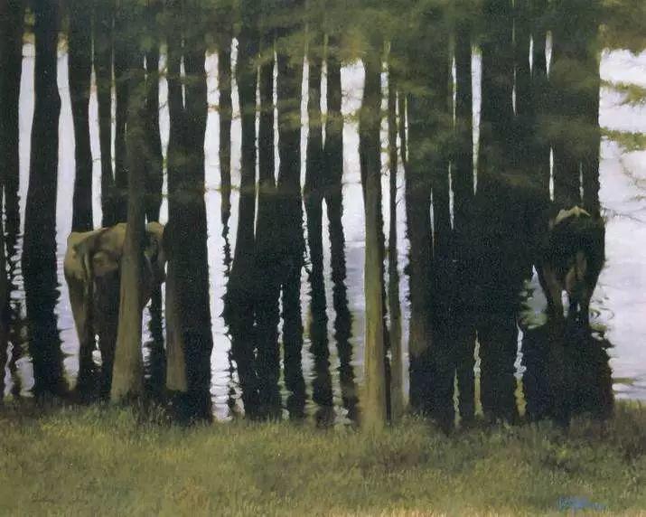 描绘早期中国的油画作品插图31