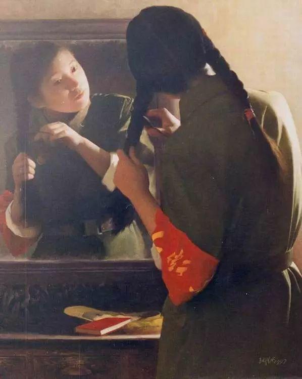 描绘早期中国的油画作品插图33