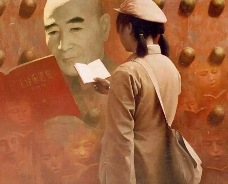 描绘早期中国的油画作品插图35