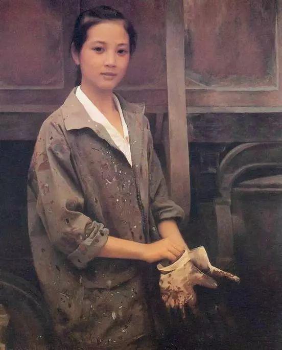 描绘早期中国的油画作品插图43
