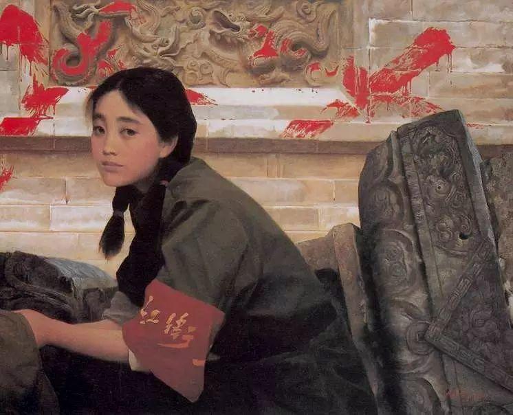 描绘早期中国的油画作品插图45