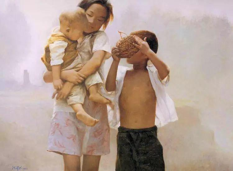 描绘早期中国的油画作品插图47
