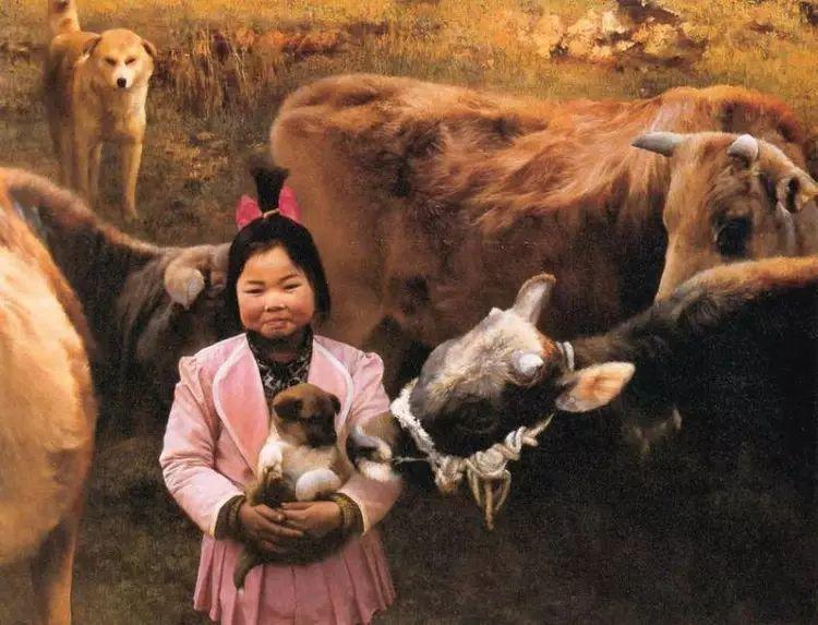 描绘早期中国的油画作品插图49