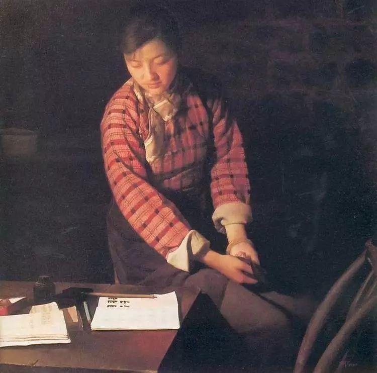 描绘早期中国的油画作品插图51