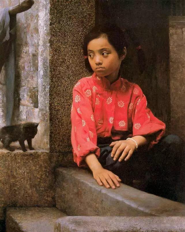 描绘早期中国的油画作品插图55