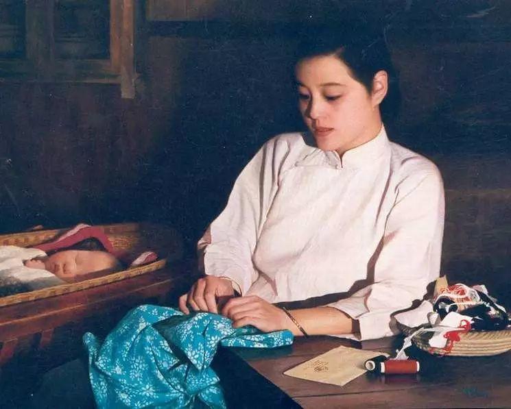 描绘早期中国的油画作品插图57