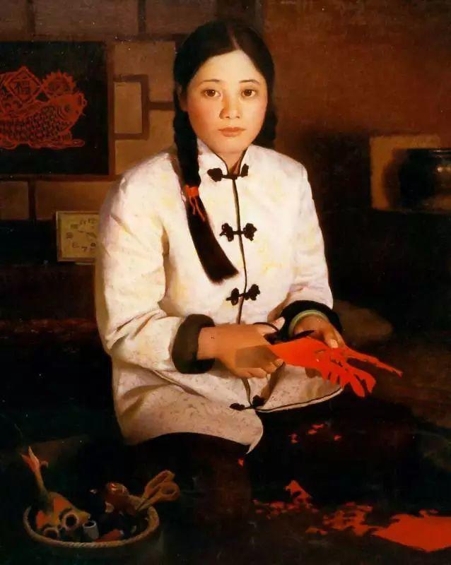 描绘早期中国的油画作品插图59
