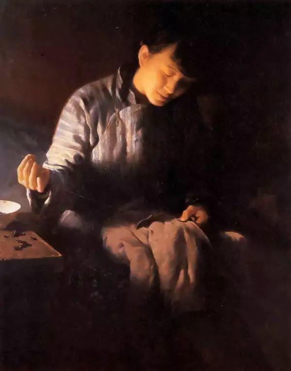 描绘早期中国的油画作品插图61