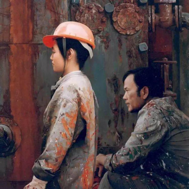 描绘早期中国的油画作品插图73