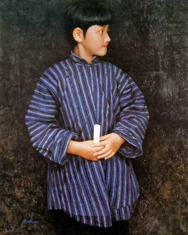 描绘早期中国的油画作品插图77