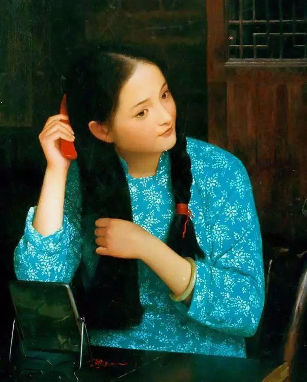 描绘早期中国的油画作品插图83