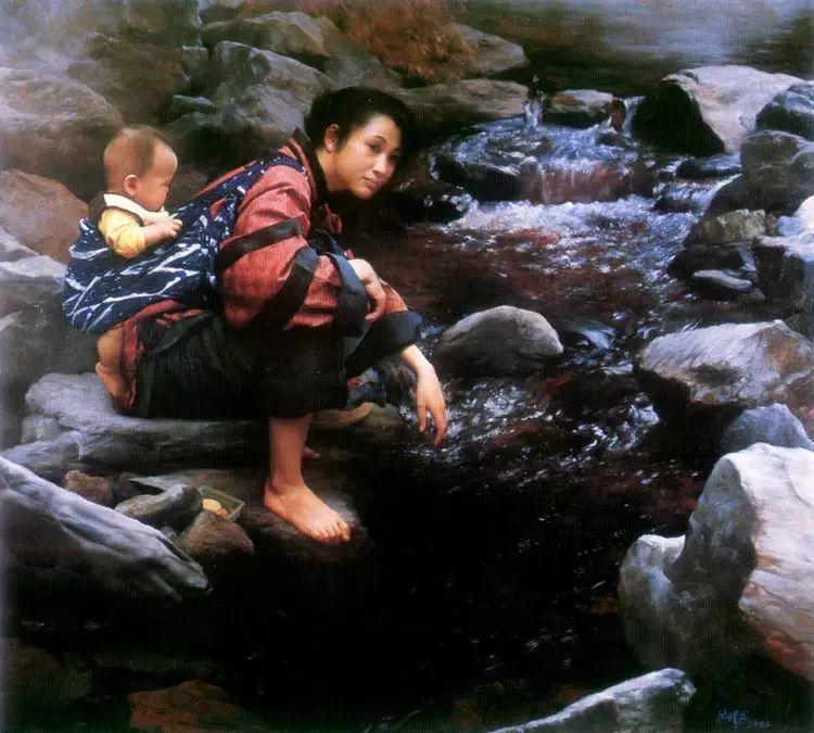 描绘早期中国的油画作品插图87