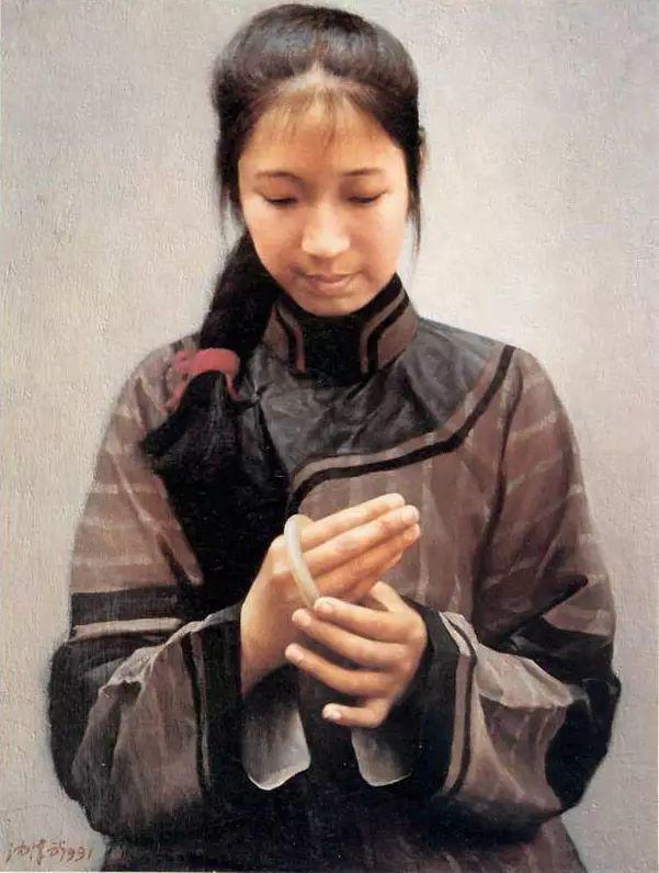 描绘早期中国的油画作品插图89