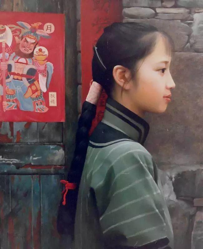 描绘早期中国的油画作品插图93