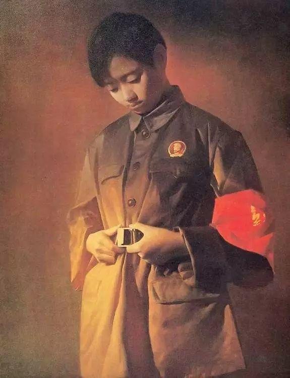 描绘早期中国的油画作品插图103