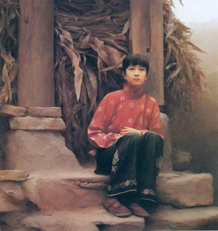 描绘早期中国的油画作品插图105
