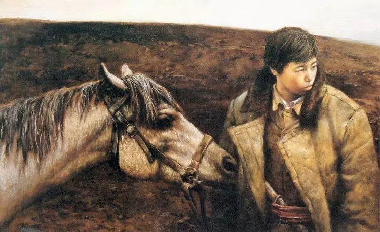 描绘早期中国的油画作品插图109