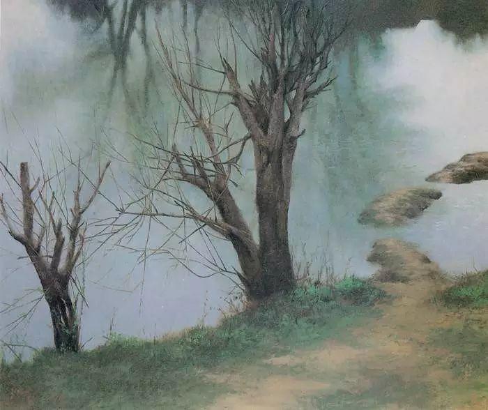 描绘早期中国的油画作品插图113