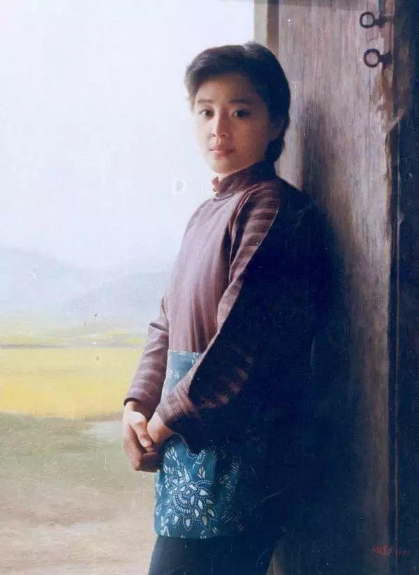 描绘早期中国的油画作品插图115