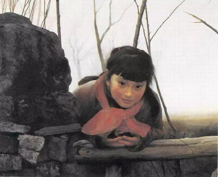 描绘早期中国的油画作品插图117