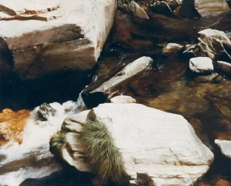 描绘早期中国的油画作品插图119