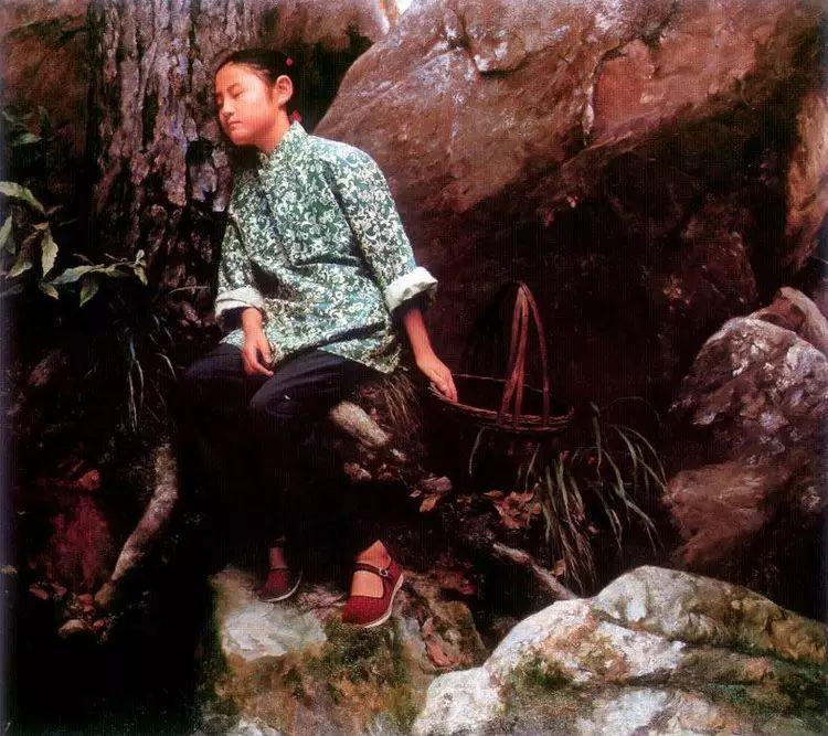 描绘早期中国的油画作品插图123