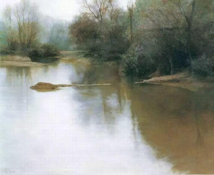 描绘早期中国的油画作品插图125