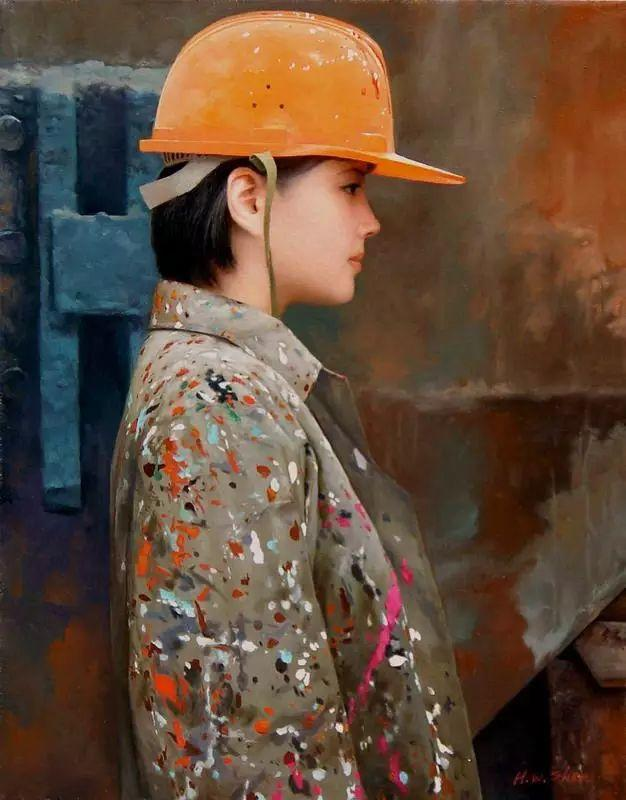 描绘早期中国的油画作品插图127