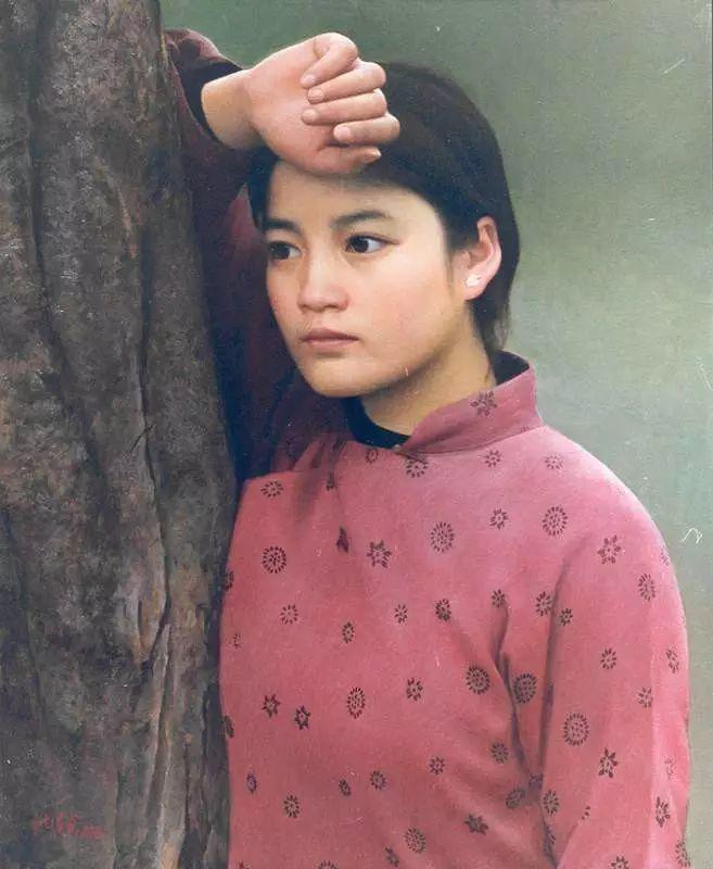 描绘早期中国的油画作品插图131