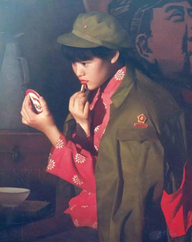 描绘早期中国的油画作品插图133