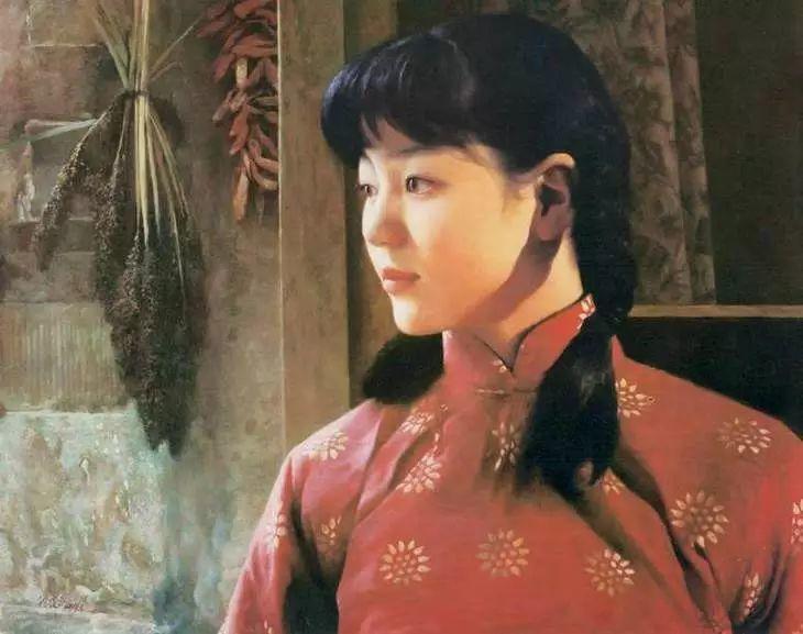 描绘早期中国的油画作品插图135