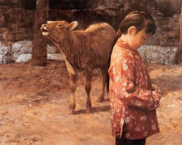 描绘早期中国的油画作品插图137