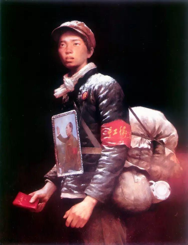 描绘早期中国的油画作品插图139