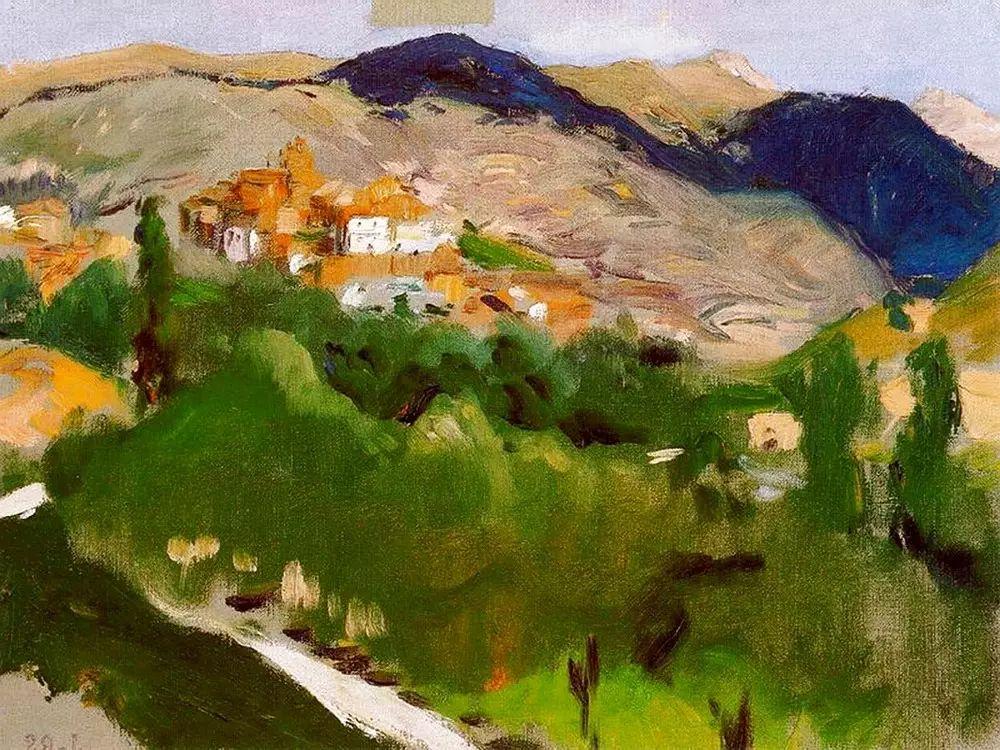 西班牙巴斯蒂达油画作品插图45