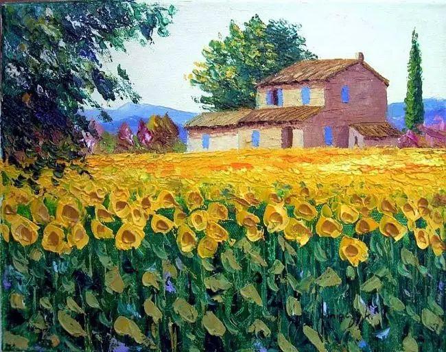 普罗旺斯的风景 法国Jean Marc Janiaczyk作品插图3