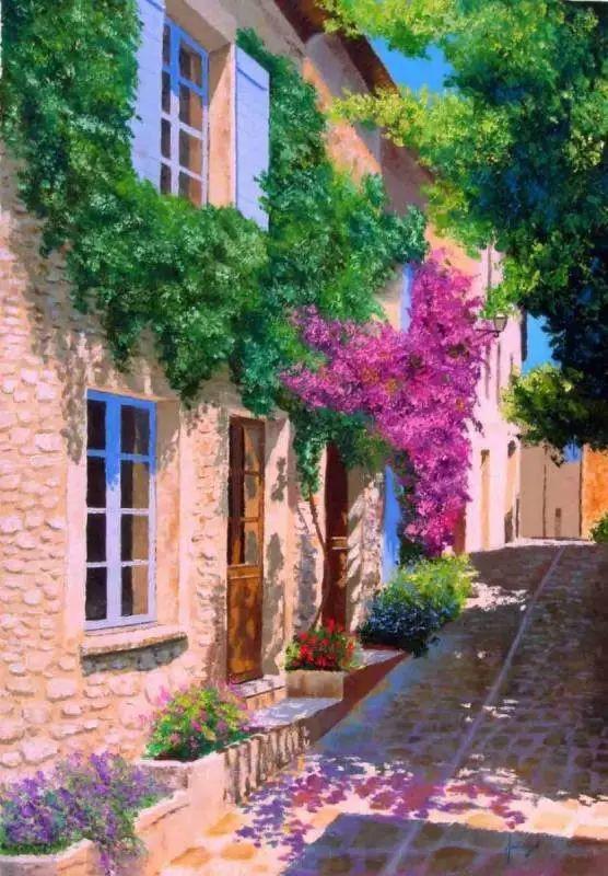 普罗旺斯的风景 法国Jean Marc Janiaczyk作品插图7