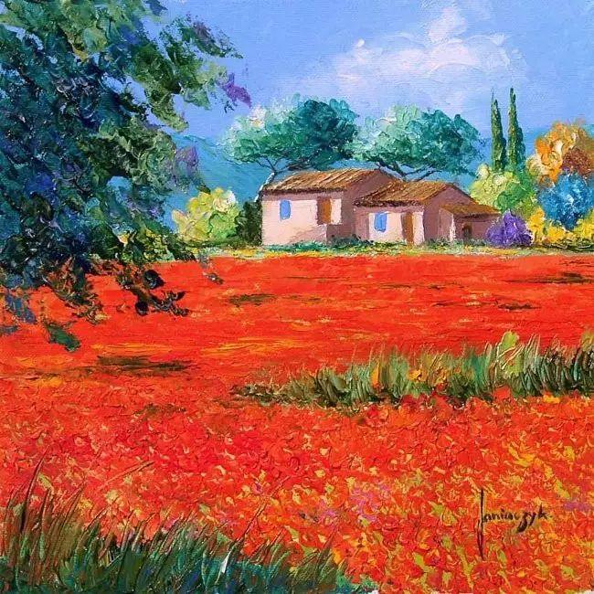 普罗旺斯的风景 法国Jean Marc Janiaczyk作品插图9
