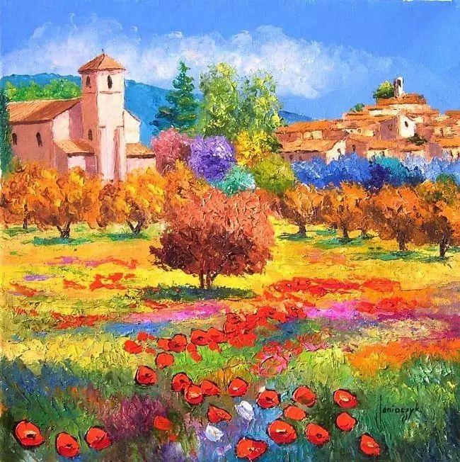 普罗旺斯的风景 法国Jean Marc Janiaczyk作品插图11