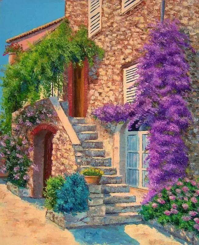 普罗旺斯的风景 法国Jean Marc Janiaczyk作品插图23