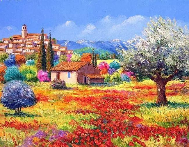 普罗旺斯的风景 法国Jean Marc Janiaczyk作品插图31