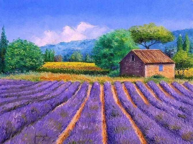普罗旺斯的风景 法国Jean Marc Janiaczyk作品插图33