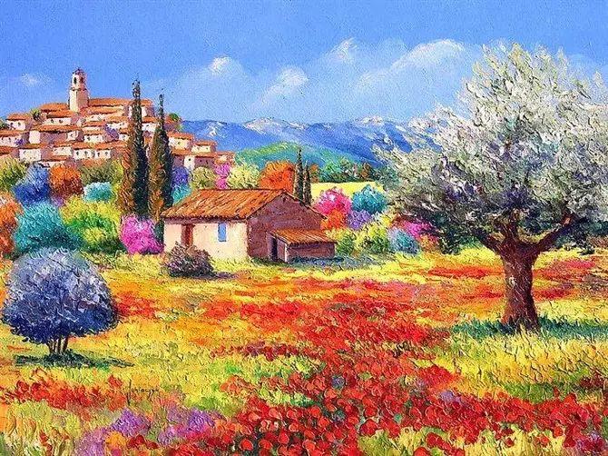 普罗旺斯的风景 法国Jean Marc Janiaczyk作品插图41